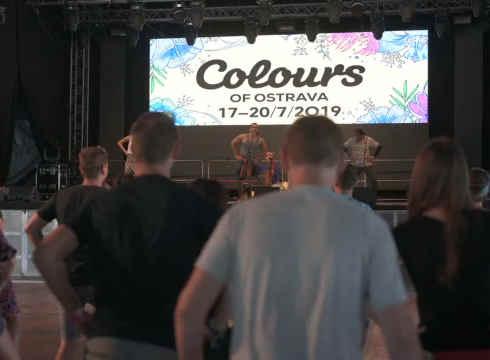 Colors of Ostrava - Dance Workshop
