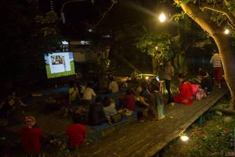 Bamboo Curtain artist village