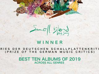 Winner - Preis der deutschen Schallplattenkritik, GERMANY