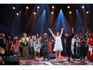 Førde festival 2018 Opening, Norway & rehearsing on Peace Boat