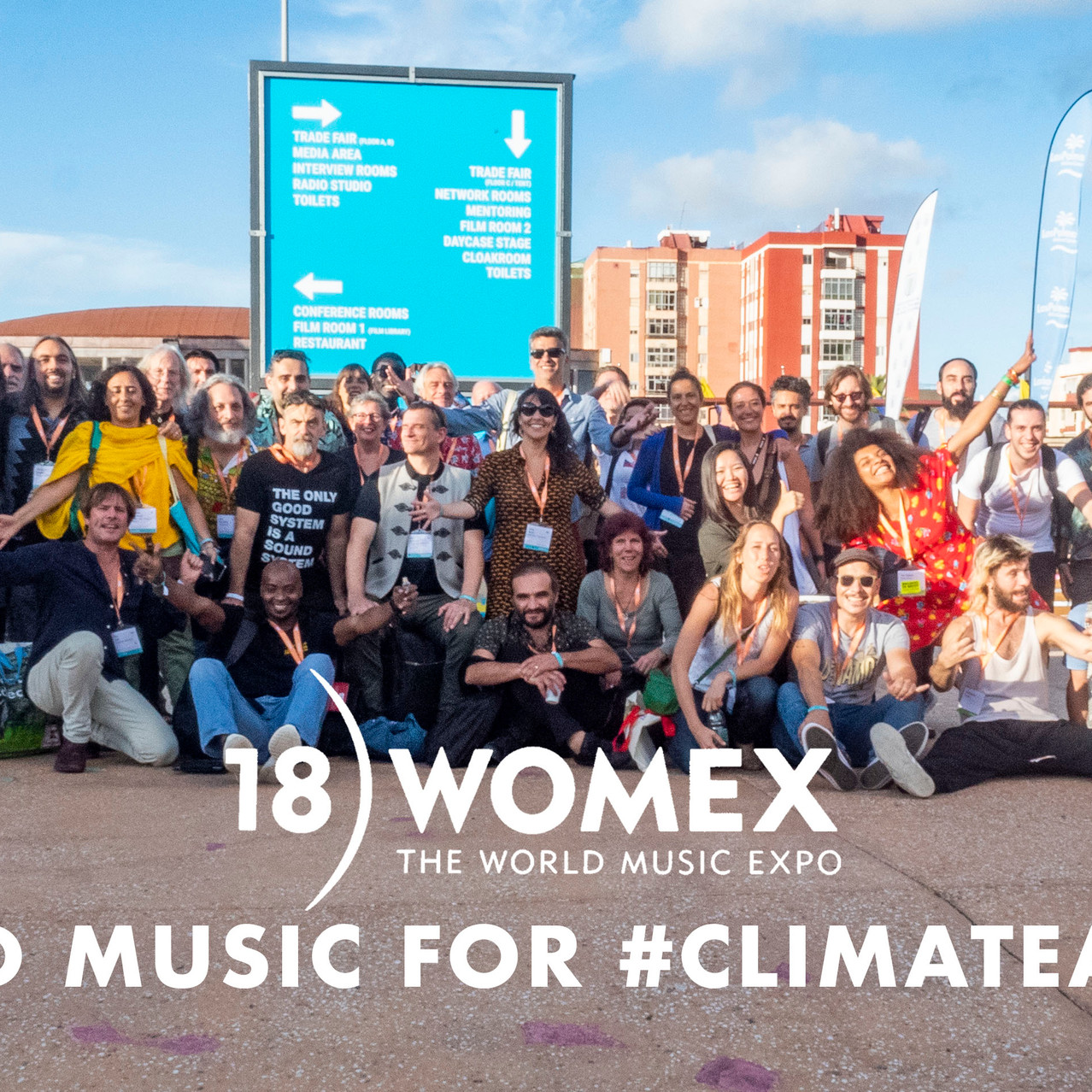WORLD MUSIC FOR #CLIMATE ACTION Image by