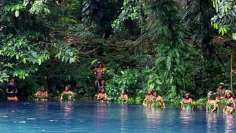 Filming Leweton Cultural Group in Vanuatu