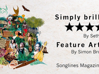 5-Star review & a feature article in Songlines Magazine UK