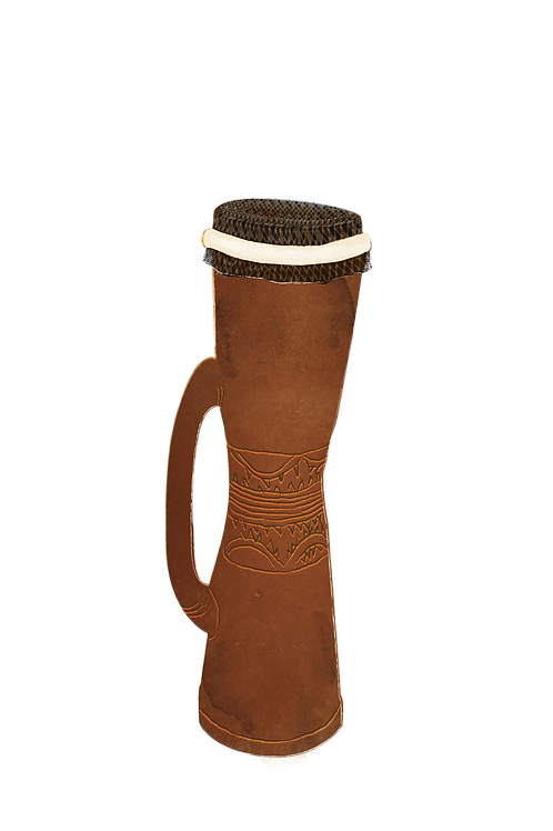 Kundu - Instrument of Papua New Guinea