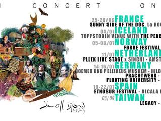 Album Launch Tour Europe & Asia