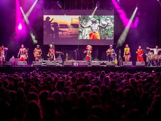 Headlining EtnoSur Festival 2018, Spain