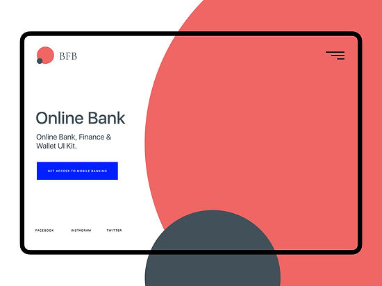 Bank, Finance and Wallet UI Kit