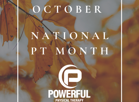 Happy National Physical Therapy Month!