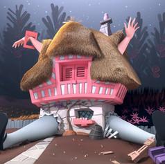 Alice in Wonderland Recreated in 3D