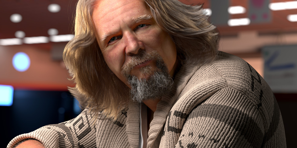 The Dude Abides - Final Image