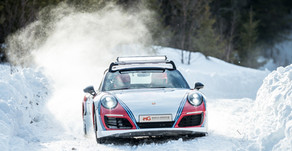 World Premiere with first-ever Porsche 991 with real World Rally Championship Tires!