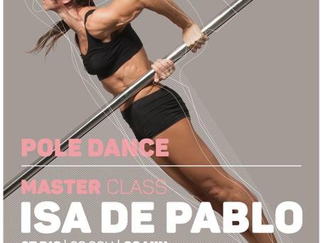 Master Class Pole Dance | Isa De Pablo