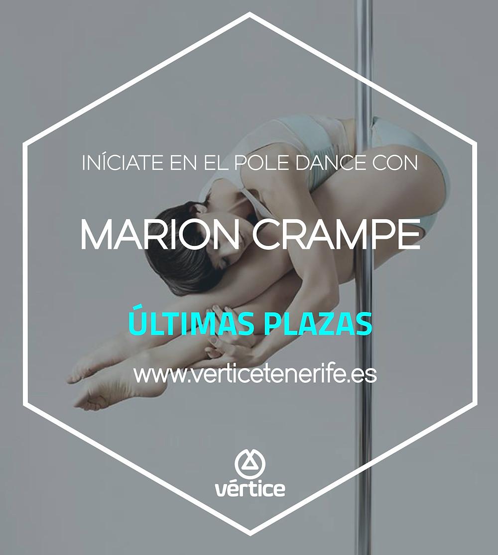 Últimas plazas, no pierdas la oportunidad de iniciarte ene Pole con Marion Crampe