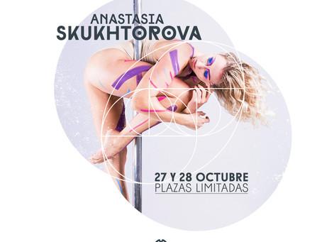 Anastasia Skukhtorova, estará por primera vez en Tenerife los días 27 y 28 de octubre.  + info e ins