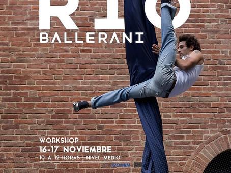 Workshop Telas Aéreas | Rio Ballerani