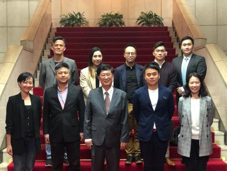 行政院郭耀煌政務委員積極回應協會訴求, 鼓勵公部門聘用數位專才,注入新興產業思維(2021 年 4 月 14 日)