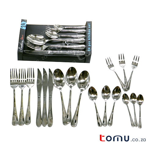 Condere 24pcs Stainless Steel Cutlery Set - 240090