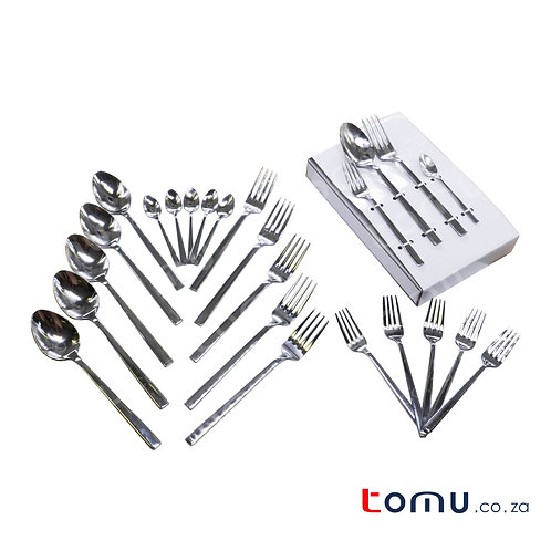 Condere 24pcs Stainless-Steel Cutlery Set - N599