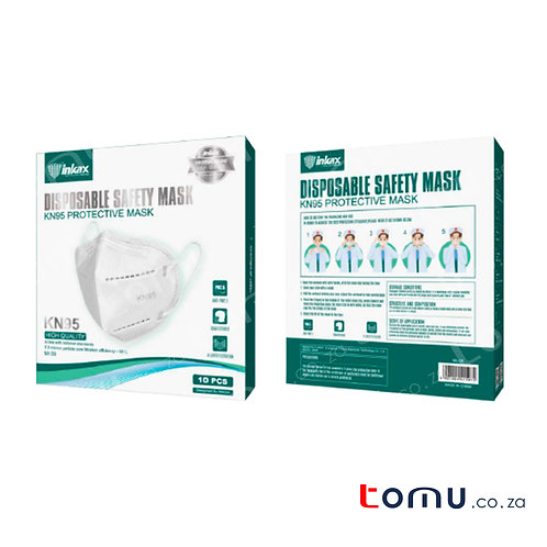 KN95 - 4ply (Adult) 10/pack R23.99/mask