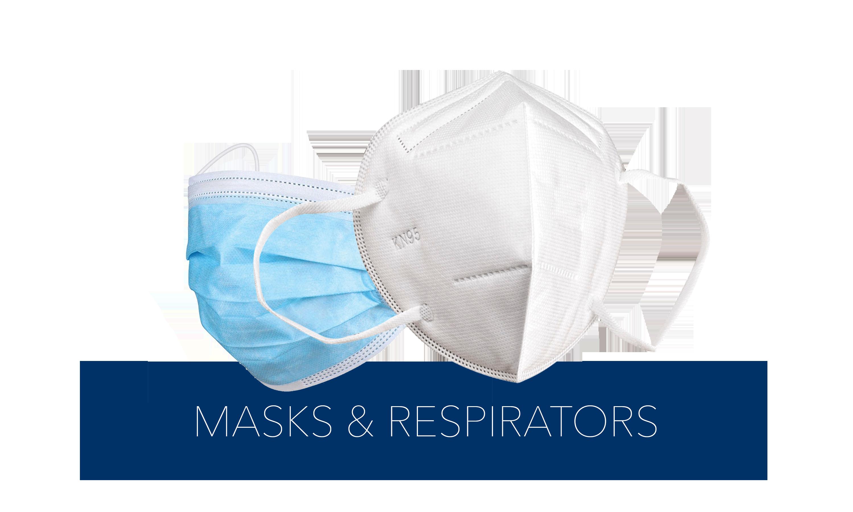 (masks & respirators) Button
