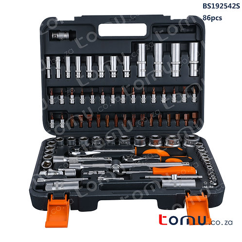 "FINDER 86pcs 1/4"", 1/2"" DR. Socket Set – 192542"