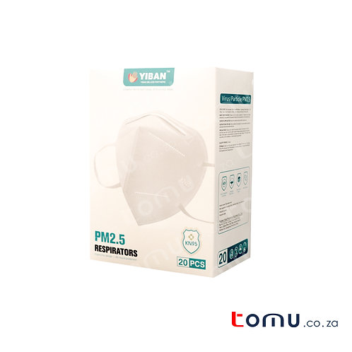KN95 Adult (4 Ply) 20/pack R23.99/mask