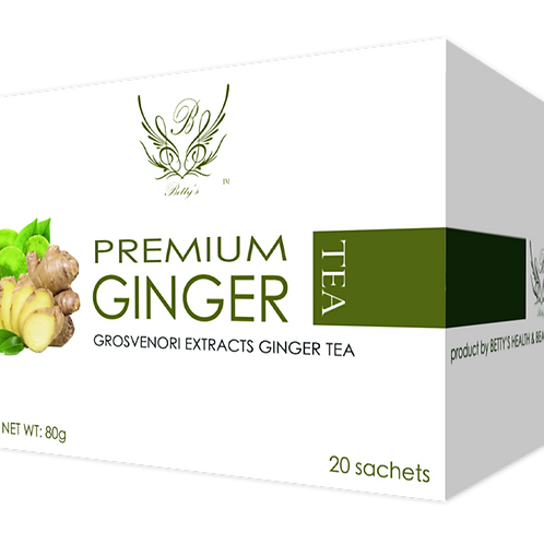Betty's Grosvenorii Ginger Tea (Sweetened Sugar-Free Tea) Product Image