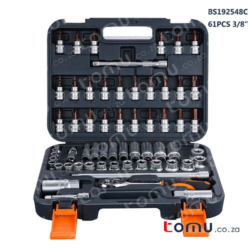 FINDER 61pcs 3/8' DR Socket Set – 192548