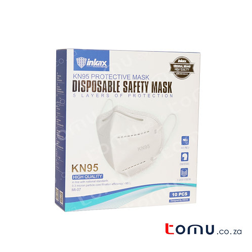 KN95 - 5ply (Adult) Protective Mask: 10pcs R25.99/mask
