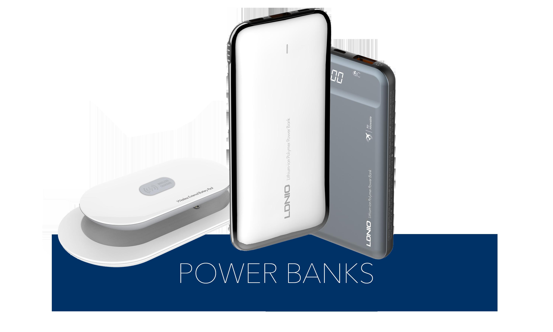 (POWER BANKS) Button