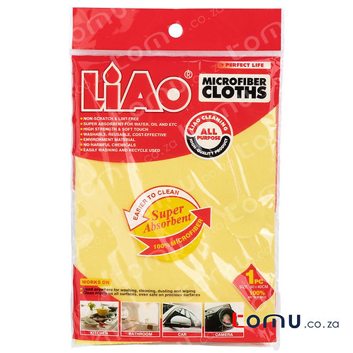 LiAo - Microfiber Cloths (30x40cm) - 1pcs/pack - LAG130014