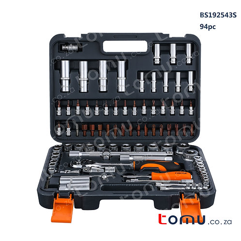"FINDER 94pcs 1/4"", 1/2"" DR. Socket Set – 192543"