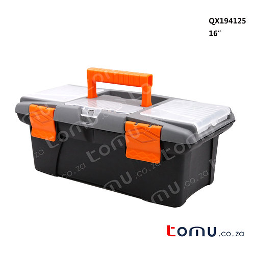 "FINDER Plastic Toolbox (16"") – 194125"