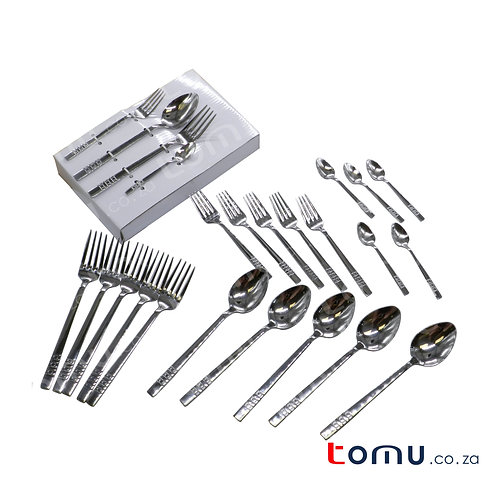 Condere 24pcs Stainless-Steel Cutlery Set - N599-A