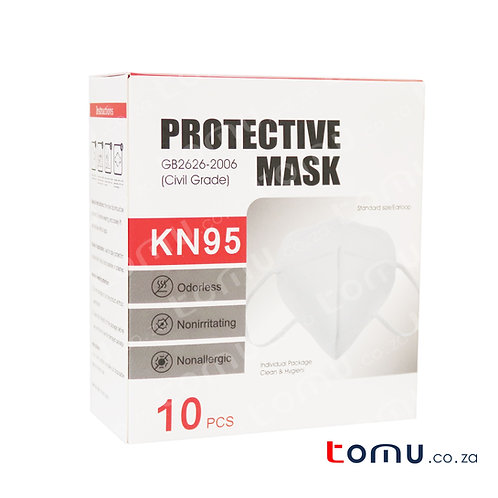 Protective 5ply KN95 Mask - 10pcs/pack - (BUY 1 GET 1 FREE)