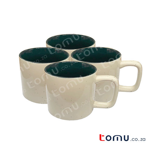 Ceramic Cup Set of 4 (Ivory Colour) 160744