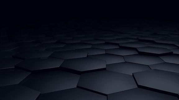 digital-hexagon-abstract-background-dark