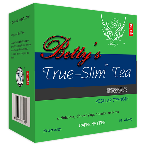 Betty's True Slim Tea (Regular Strength) Product View
