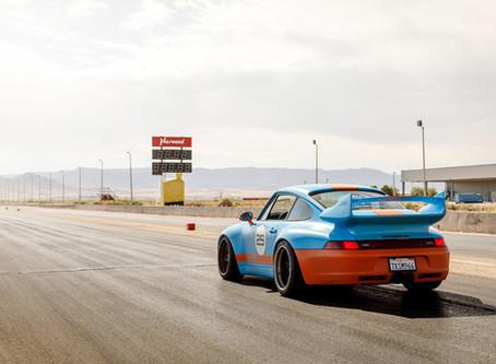 Gunther Werks Road Trip Across America. Tests metal during 2018 goldRush Rally