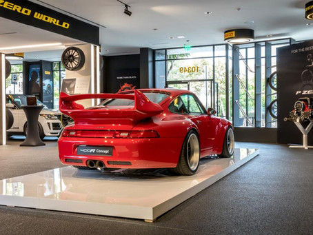 Gunther Werks Creates A Porsche 993 Carrera 2 Fitting Of A GT3 Badge
