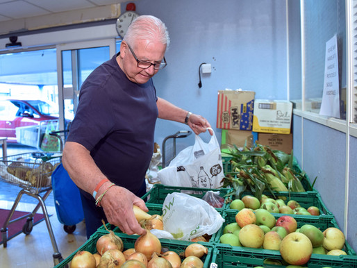 Demand for food parcels doubles in 2018 at the FIND food bank