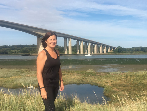 Suffolk company director takes on Great East Run for Families in Need