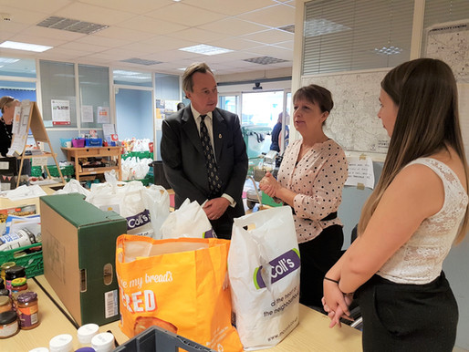 High Sheriff issues 'Call to Arms' to help Ipswich food bank FIND's £100,000 appeal
