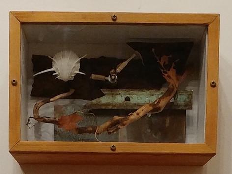 Brown Lace (Memory Box clock)
