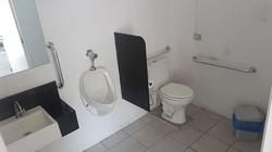 Sanitário com acessibilidade