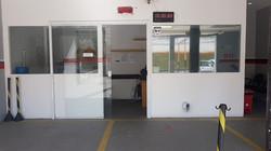Entrada da área administrativa