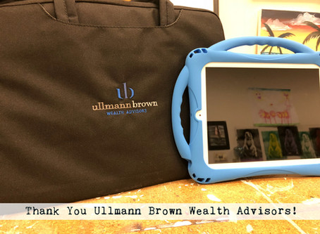 Bringing Digital Art to the Healthcare Environment thanks to Ullmann Brown Wealth Advisors