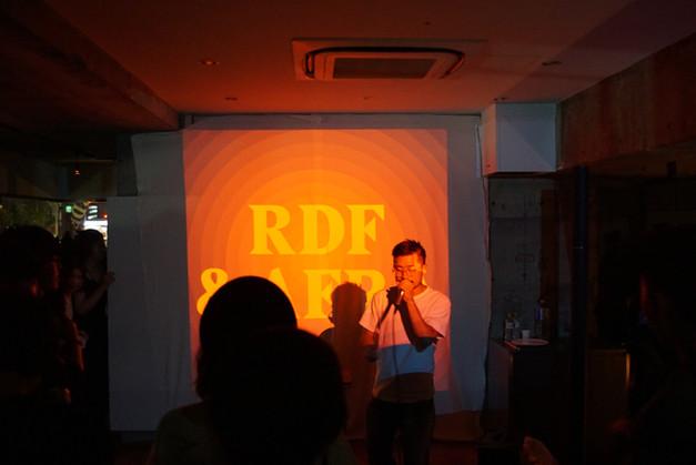 ヒューマンビートボックス AFRAさんとRDFのコラボレーションライブ。