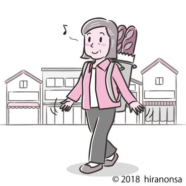 老人と買い物