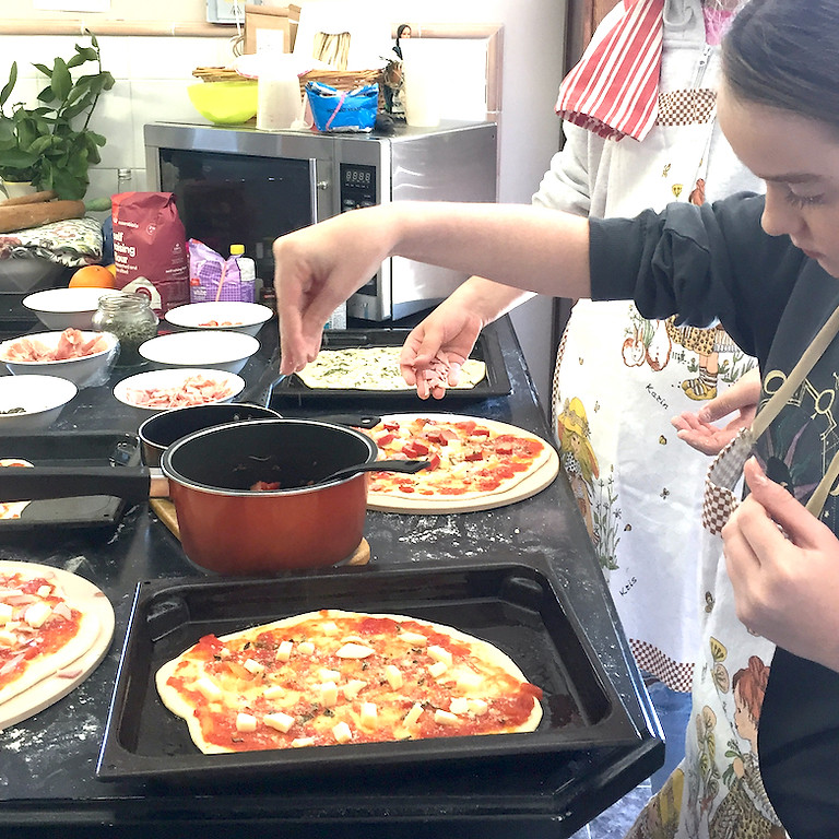 Kids Biscuit and Pizza Making Parties